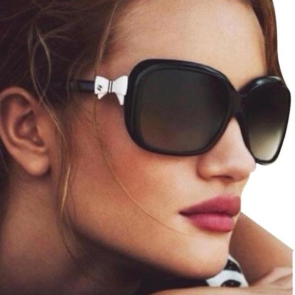 38df8d2e94 CHANEL Accessories - Chanel Bow Tie Ribbon Logo Square Tie Sunglasses